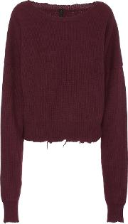 Oversized Wool And Cashmere Sweater