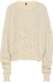 Ribbed Cotton And Cashmere Sweater