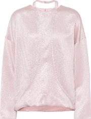 Hammered Lame Blouse