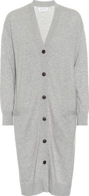 Tania Cotton And Cashmere Cardigan