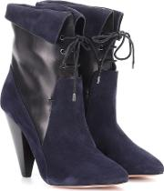 Hawthorne Fine Suede Ankle Boots