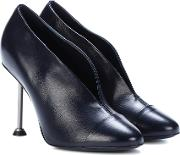 Pin Leather Pumps