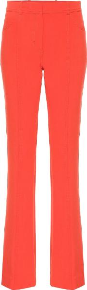 Exclusive To Mytheresa Mid Rise Flared Wool Blend Pants