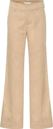Market Linen And Cotton Twill Pants