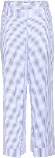 Marion Striped Wide Leg Trousers
