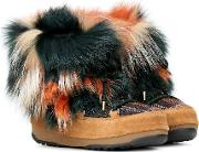 X Moon Boot Fur Ankle Boots
