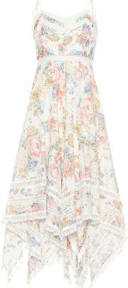 Bowie Floral Printed Cotton Dress