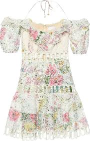 Heathers Floral Lace Minidress