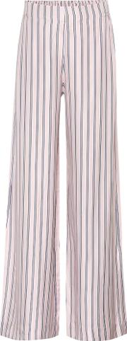 Radiate Striped Silk Blend Trousers