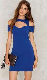 Divide And Conquer Cutout Dress