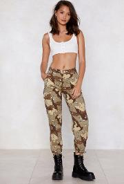 Camo Over Here Babe Pants