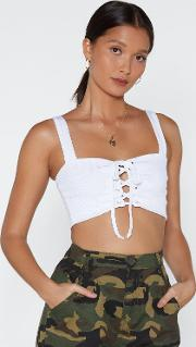 Coming Lace To Lace Bra Top