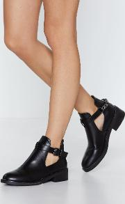 Feel Good Faux Leather Bootie