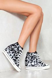 Flash Into View Sequin Sneaker