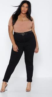 Get 'em Tight Now High Waisted Jeans