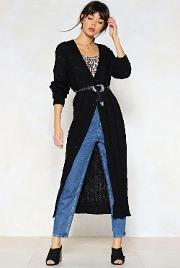 Get Your Knits On This Longline Cardigan