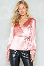 Girl You're So Together Satin Top