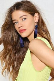 Hang Ups Tassel Earrings