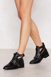 Here's The Run Down Eyelet Bootie