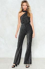 If You Want To Party Velvet Jumpsuit