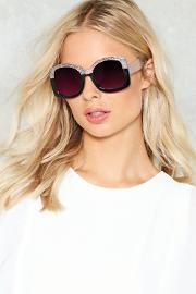 In Your Dreams Oversized Glitter Shades