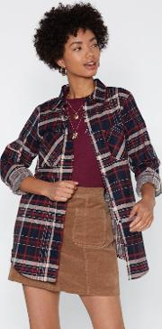 It's A Plaid Time Relaxed Shirt