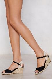 It's Up To You Wedge Sandal