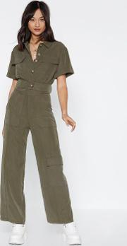 Jump In The Cargo Wide Leg Pants