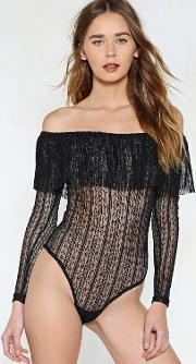 Keep A Straight Lace Bodysuit