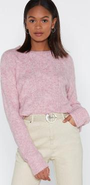 Knit Listening Relaxed Sweater