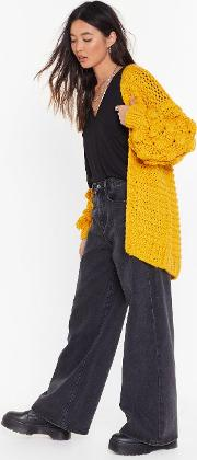 Knit's Not Unusual Chunky Cardigan