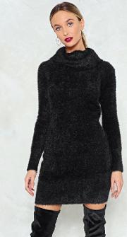 Knit's Your Move Sweater Dress