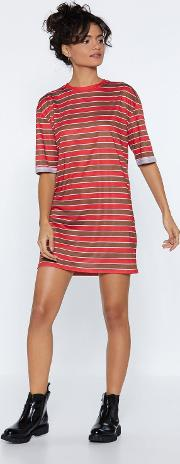 Knock 'em Sideways Tee Dress