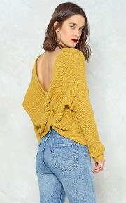 Knot My Fault Oversized Sweater