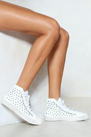 Leave Your Mark Studded Sneaker