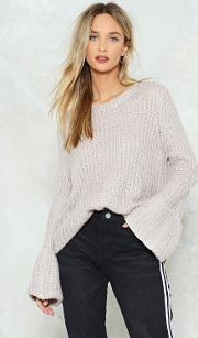 Look After Yourself Chunky Sweater