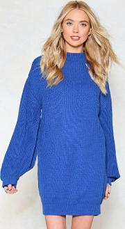 Make Knit Count Sweater Dress