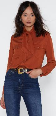 Not Your First Rodeo Neck Tie Shirt