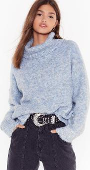 Oversize Up The Competition Sweater