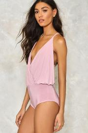 Right Back Atcha Plunging Bodysuit