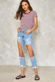 Rip Her To Shreds Distressed Jeans