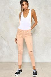 Seeing Shred Distressed Jeans