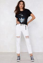 Shred A Tear Distressed Jeans