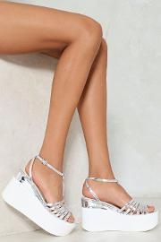 So Vain Platform Sandal