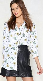 Spring Is In The Air Polka Dot Shirt