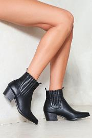 Step Right Up Vegan Leather Boot