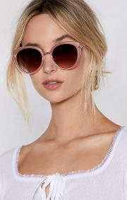 Tickled Pink Oversized Shades