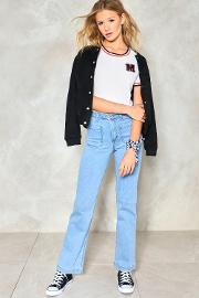 Totally Floored Flare Jeans