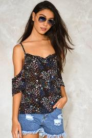 Under The Sun Floral Top