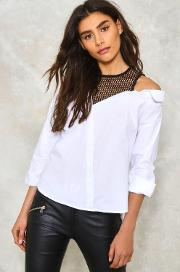 Underneath It All Fishnet Shirt